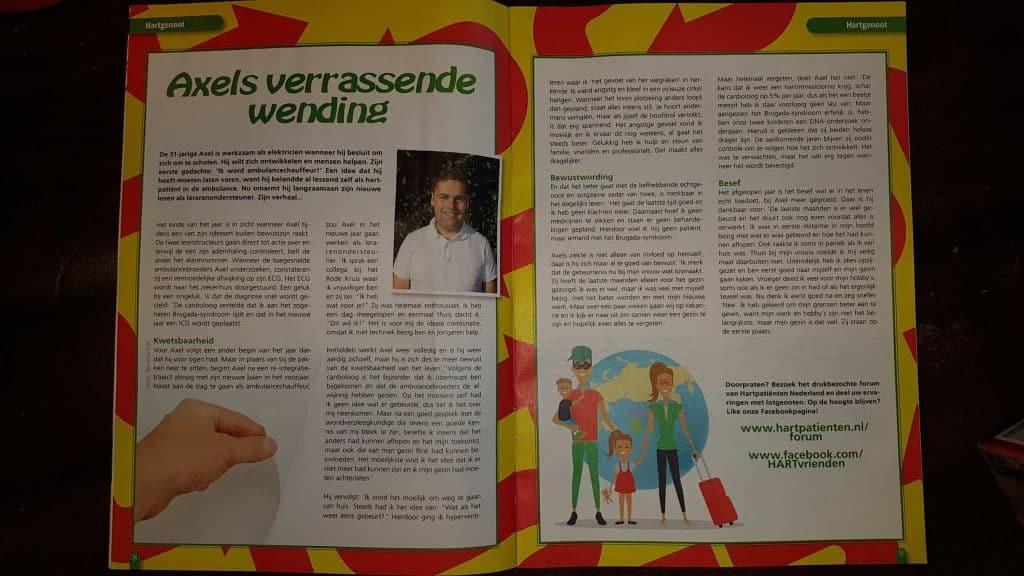 Axel Hartbrug magazine